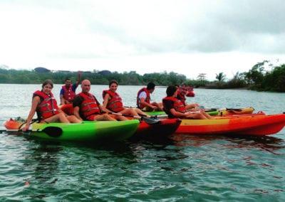KayakingOsaGreen